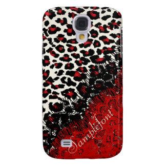 PixDezines leopard spots/faux lace Galaxy S4 Cover