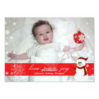 PixDezines Let it snow, Holiday Cards/DIY... Personalized Invitation