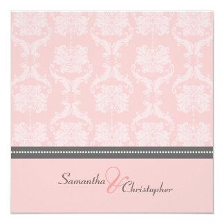 PixDezines Liliana Damask, customizable background Card
