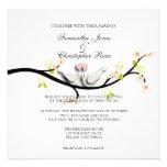 PixDezines love doves/diy background color Personalized Invitation