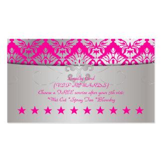PixDezines loyalty reward/sabine damask Business Card