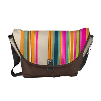 PixDezines Malibu Stripes/DIY colors Courier Bag