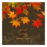 PixDezines maple leaves/fall event Custom Invites