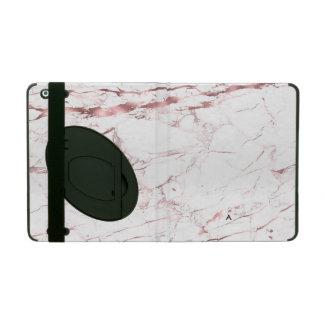 PixDezines Marble + Faux Rose Gold Veins iPad Cover