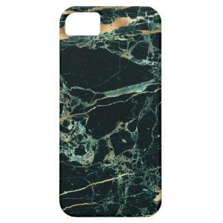 PixDezines Marble, Teal Green + Gold Veins iPhone SE/5/5s Case
