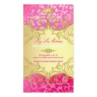 PixDezines Marie Antoinette en Oro Business Card
