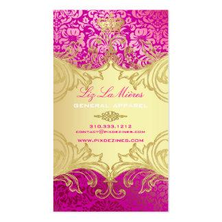 PixDezines Marie Antoinette en Oro Business Card Template
