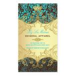 PixDezines Marie Antoinette en Oro Business Cards