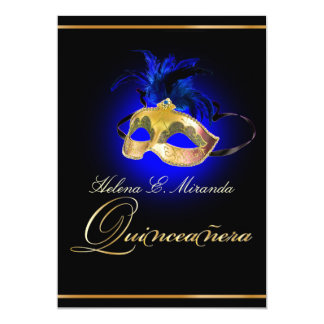 PixDezines Masquerade/Royal Blue/DIY color!! Card