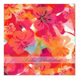 PixDezines Maui Hibiscus Custom Invitations