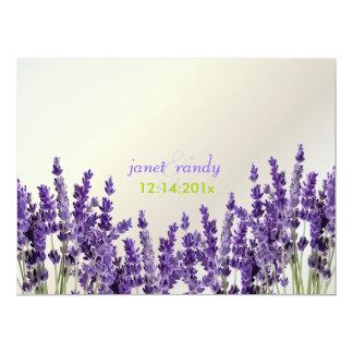 PixDezines maui lavender/diy color 6.5x8.75 Paper Invitation Card