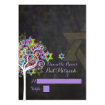 PixDezines mitzvah place cards/tree of life Large Business Cards (Pack Of 100)
