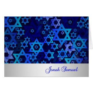 PixDezines mod stars mitzvah thank you/DIYcolor! Greeting Card