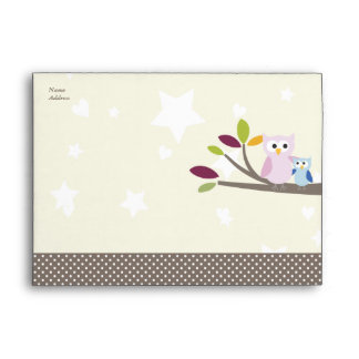 PixDezines Mommy+baby for a baby shower Envelope