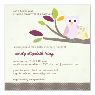 PixDezines Mommy+baby for a baby shower Announcement