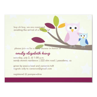 PixDezines Mommy+baby for a shower 4.25x5.5 Paper Invitation Card