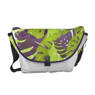 PixDezines monstera/diy background color Commuter Bags