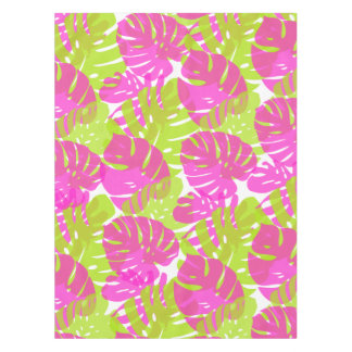 PixDezines Monstera/Neon Pink/Lime/DIY background Tablecloth