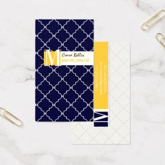 PixDezines Moroccan Trellis/DIY colors in a snap.. Business Card