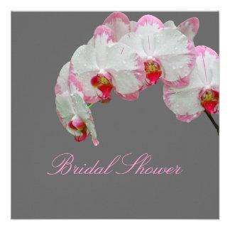 PixDezines moth orchids/fuschia Invite