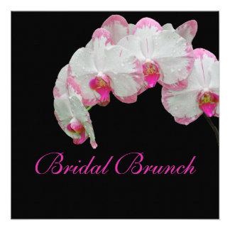 PixDezines moth orchids/pink/diy background color! Invitations