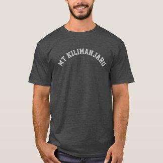 PixDezines mt. kilimanjaro/DIY text+font+color T-Shirt