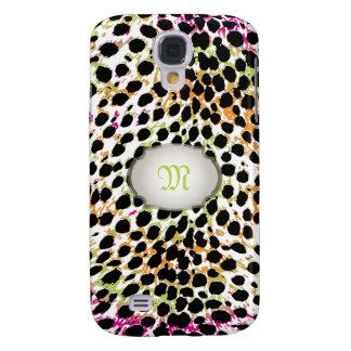 PixDezines multi color cheetah spots Samsung Galaxy S4 Case