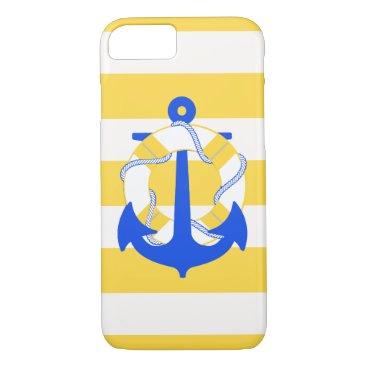 PixDezines nautical/anchor/diy color iPhone 8/7 Case