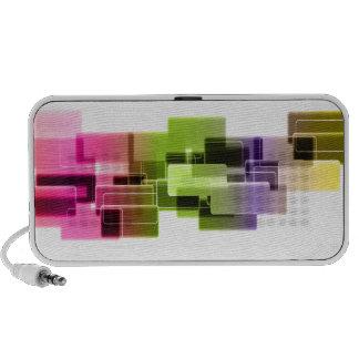 PixDezines Neon Lights Notebook Speaker