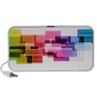 PixDezines Neon Lights Speakers