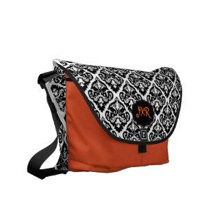 PixDezines Olivia Damask/DIY background Commuter Bag
