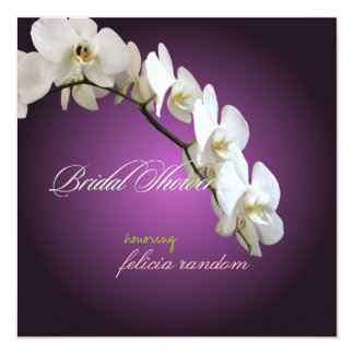 PixDezines orchids/phalaenopsis Custom Invitations
