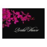 PixDezines orchids/renanthera 5x7 Paper Invitation Card