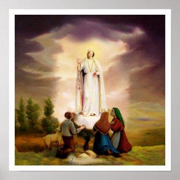 pixdezines PixDezines Our Lady of Fatima poster