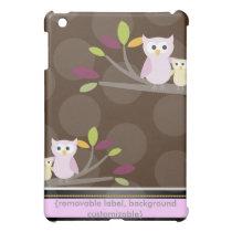 PixDezines Owls Family iPad Mini Cases