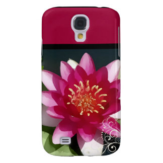 PixDezines painted water lily Samsung S4 Case