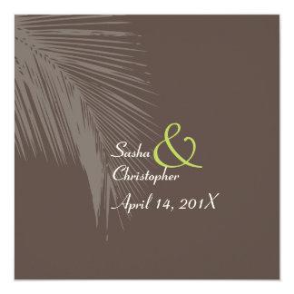 PixDezines palm fronds silhouette Card
