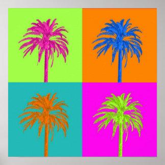 PixDezines Palm Trees Posters