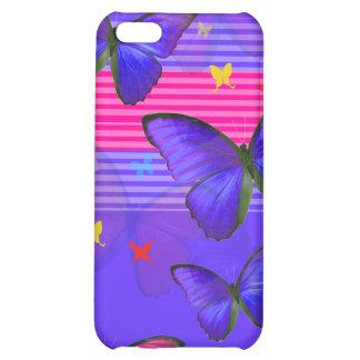 PixDezines Papillon Case For iPhone 5C