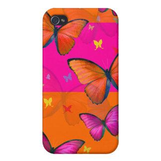PixDezines Papillon Case For iPhone 4
