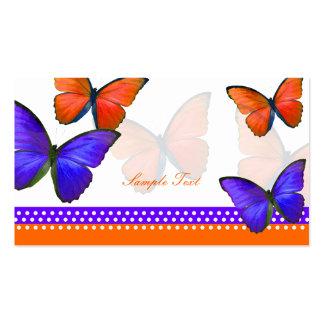 PixDezines Papillon mitzvah place cards Business Cards