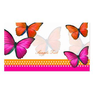 PixDezines Papillon mitzvah place cards Business Card