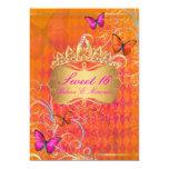 PixDezines Papillon Sweet 16/Rainbow Swirls Card