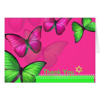 PixDezines Papillon Thank You Card