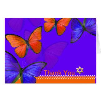 PixDezines Papillon Thank You Cards
