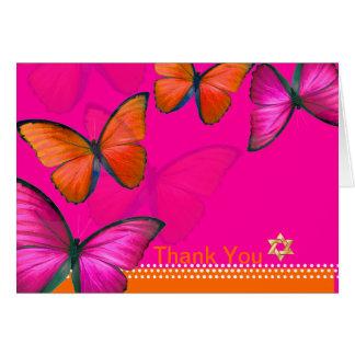PixDezines Papillon Thank You Greeting Card