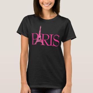 PixDezines paris, faux glitter eiffel tower T-Shirt