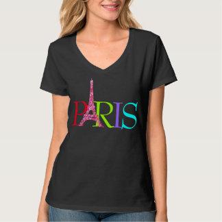 PixDezines paris, faux glitters eiffel tower T-Shirt