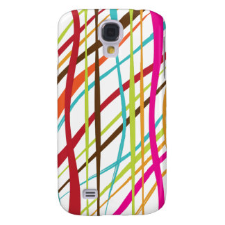PixDezines party streamers Samsung Galaxy S4 Cases