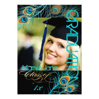 PixDezines Peacock, 2013 Graduation,diy background Custom Invite